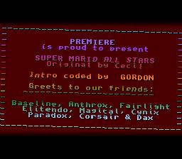 Super Mario All Stars by Premiere :: pouët net