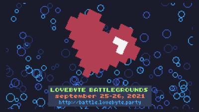 Screenshot for lovebyte battlegrounds 2021 by Jin X